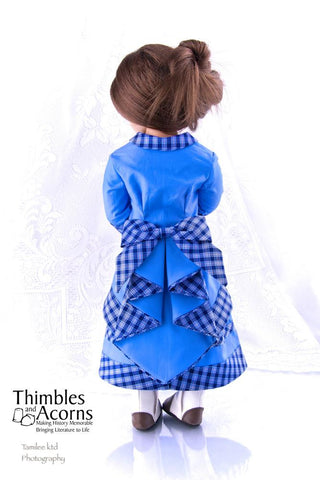"Waterfall Bustle 16"" and 18"" Doll Clothes"