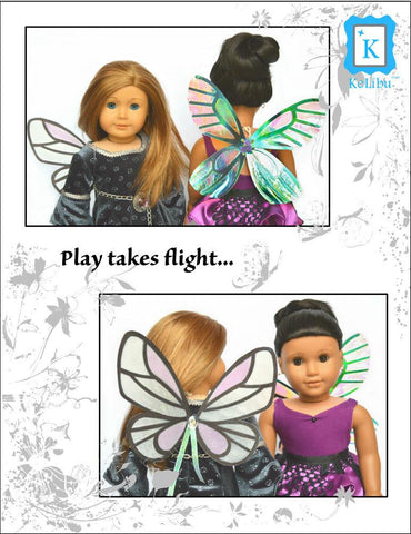 "Whimsical Wings 18"" Doll Accessories"