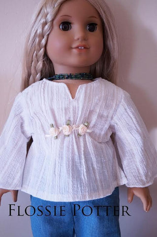 "Woodstock Peasant Top 18"" Doll Clothes"