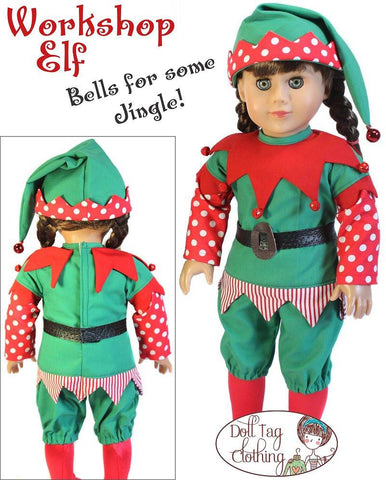 "Workshop Elf 18"" Doll Clothes"