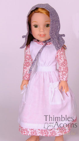 "Country Girl 14.5"" Doll Clothes Pattern"