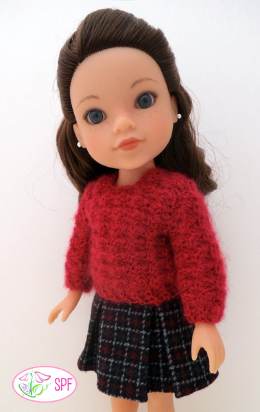 Sweet Pea Fashions Cobblestone Sweater Doll Clothes