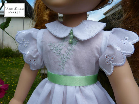 Heirloom Luncheon 13-14.5 Inch Doll Clothes Pattern