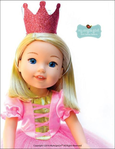 Story Book Collection: Pointy Hat and Princess Crowns For WellieWishers Dolls
