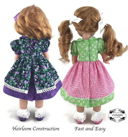 School Girl 14-14.5 Inch Doll Clothes Pattern