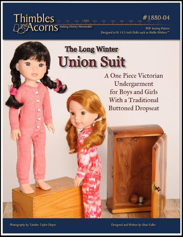"Union Suit 14.5"" Doll Clothes Pattern"