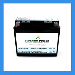 1b. 12V High-Rate (Starter) LFP Batteries