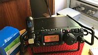 Yaesu FT-817ND 40m QSO SSB QRP to Amish Country