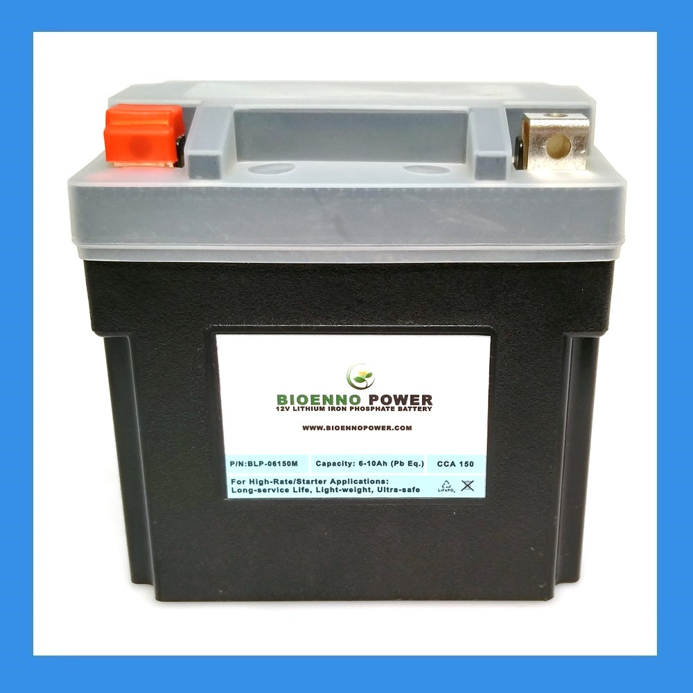 12V, 150 CCA LFP Starter Battery, (ABS, BLP-06150M)