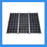 150 Watt Foldable Solar Panel for Charging Power Packs + Free Padded Case (BSP-150)
