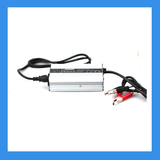 14.6V, 10A AC-to-DC Charger (Alligator) for 12V LiFePO4 Batteries (BPC-1510C)