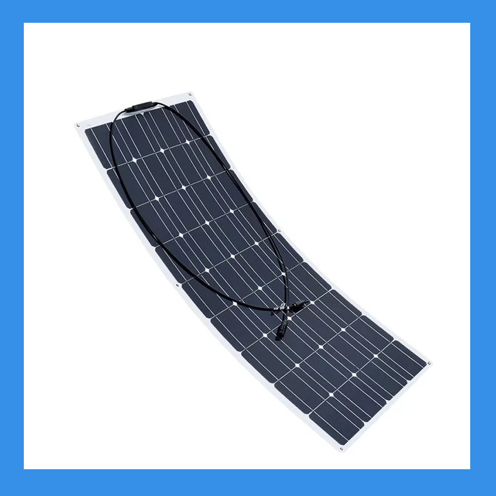100 Watt Ultra-Thin Solar Panel for Charging Power Packs (BSP-100)