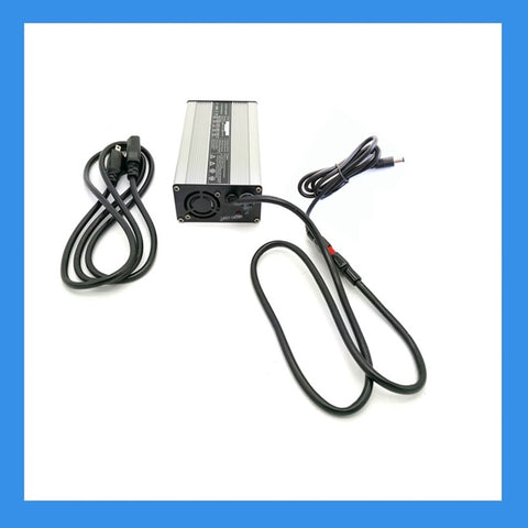 58.4VDC, 2A AC-to-DC Charger (DC Plug) for 48V LiFePO4 Batteries (BPC-4802DC)