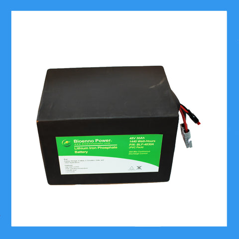 48V, 30Ah LFP Battery (PVC, BLF-4830A)