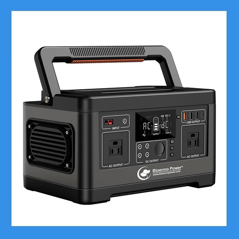 Bioenno Power 500 Watt-Hour Renewable Power Pack (BPP-M500)