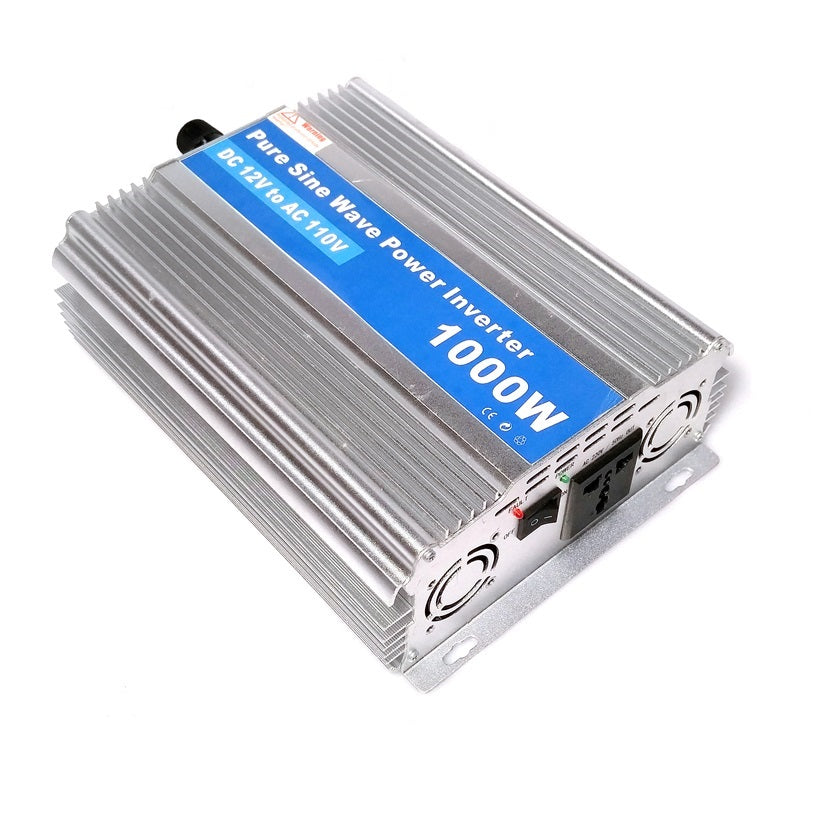 Bioenno Power Inverter, 1000 Watts Pure Sine (BI-1000P)