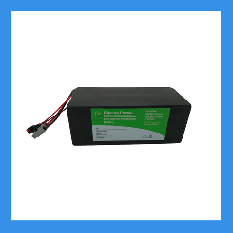 24V, 40Ah LFP Battery (PVC, BLF-2440A)