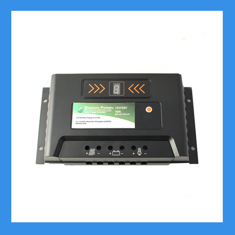 12V/24V, 10A Solar Charge Controller for LiFePO4 Batteries (SC-122410T)