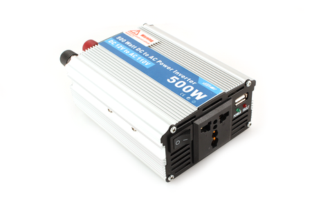 Bioenno Power Inverter, 500 Watts (BI-500)