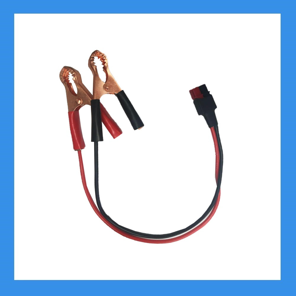 BA-PP45-LCLIP (PP45 Powerpoles to Large Alligator Clips Adapter)