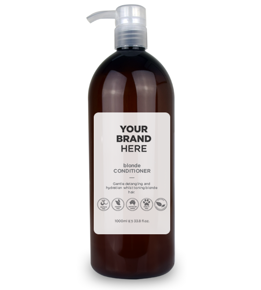 Blonde Conditioner - Amber Bottle - 1000ml / 33.8 fl.oz.