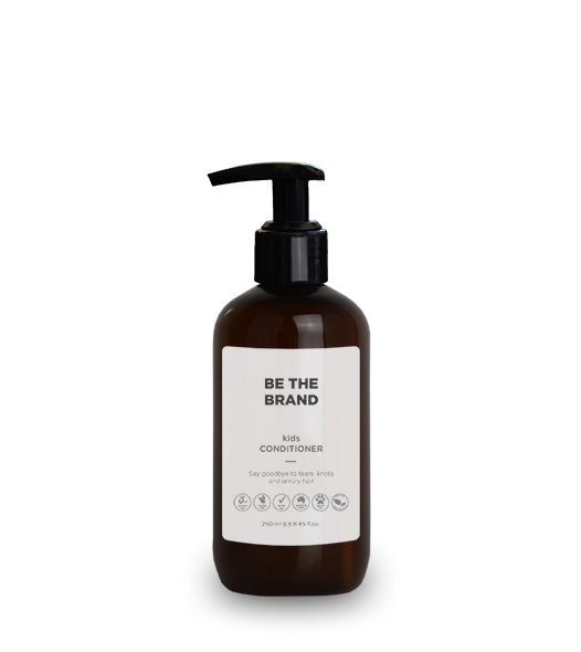 Kid's Conditioner - Amber bottle - 250ml / 8.45 fl.oz.