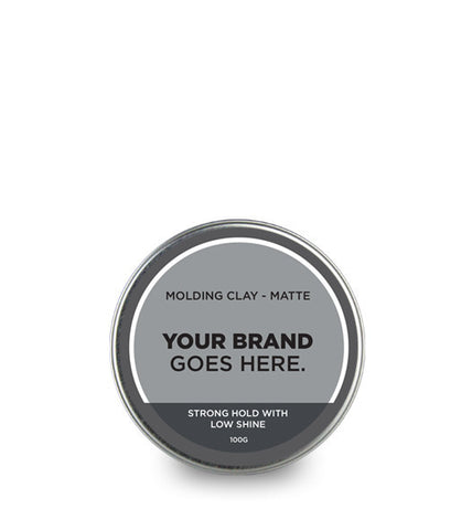 Private Label Men's Matte Styling Paste