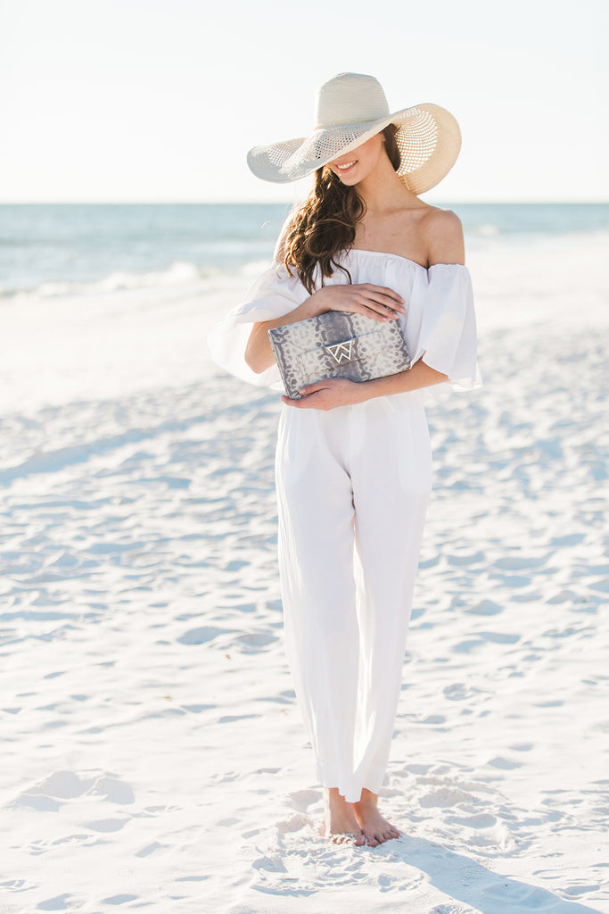 Forever Classy Clutch in Barbados Bubbles