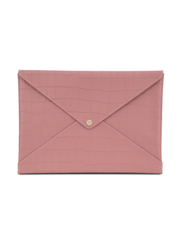 Medium All The Things Envelope in Rose Croco