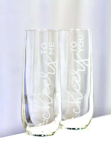 Champagne Flute Set in
