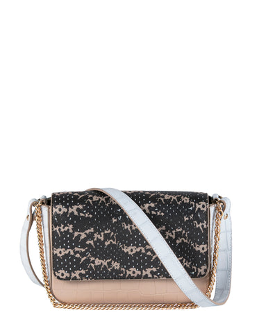 Kiss Kiss Crossbody in Black Saffie