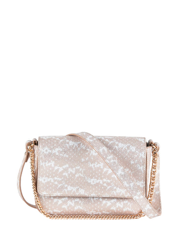 Kiss Kiss Crossbody in Nude Saffie
