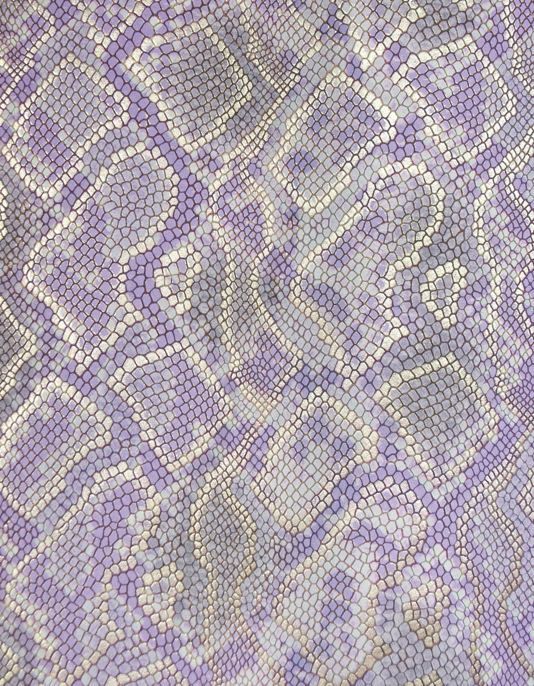 Clear Mingle Mingle Mini in Light Purple Python
