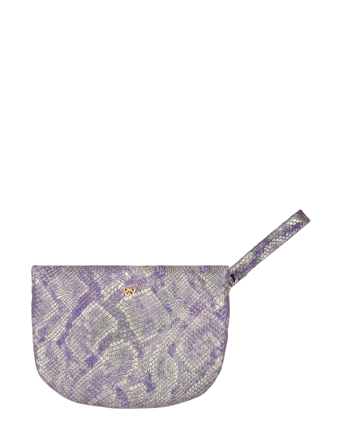 MVP Pouch in Light Purple Python