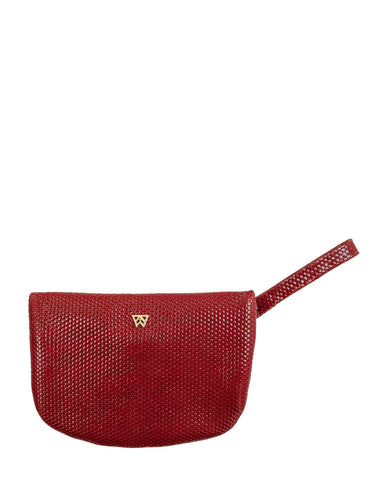 MVP Pouch in Red Haute
