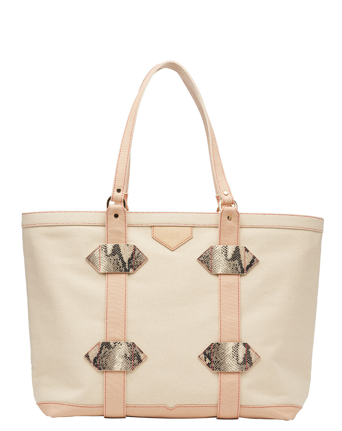 Out of Town Tote in Nude