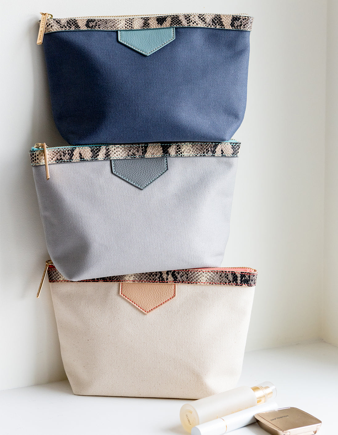 Packed & Ready Pouch in Nude