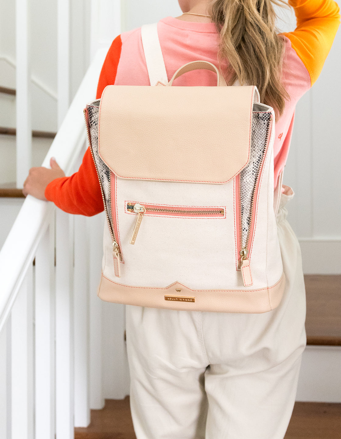 Bon Voyage Backpack in Sand