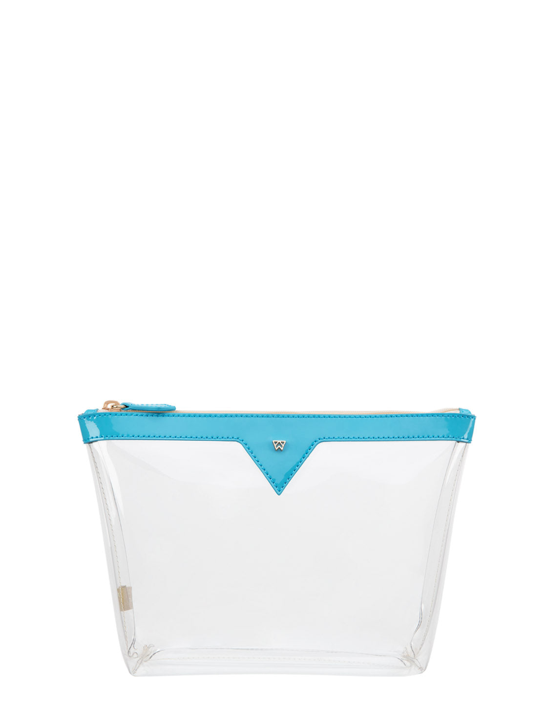 Vacation Please Pouch MEDIUM in Turquoise