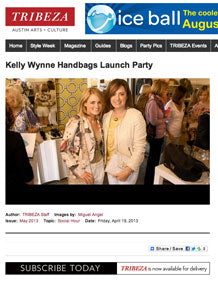 Kelly Wynne on Tribeza
