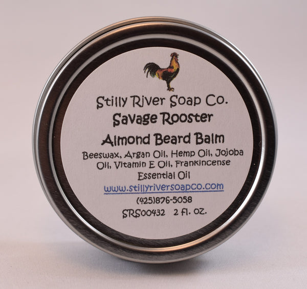 Savage Rooster Almond Beard Balm