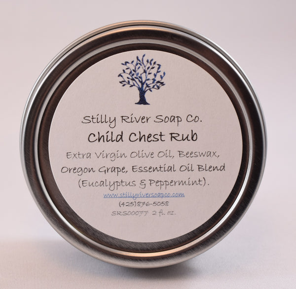 Child Chest Rub for Cold and Flu