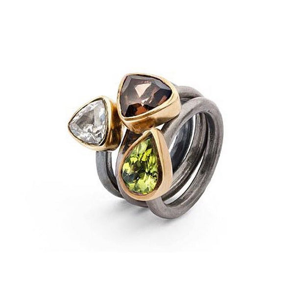 SAIGON PERIDOT KALEIDOSCOPE RING