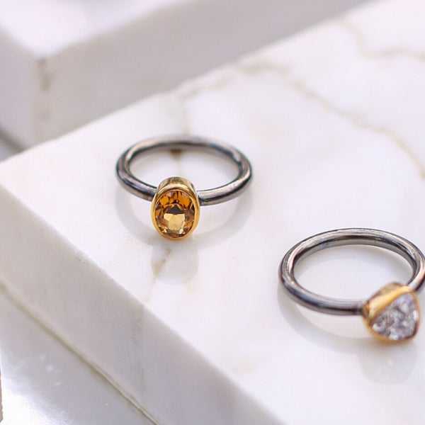 SAIGON CITRINE KALEIDOSCOPE RING