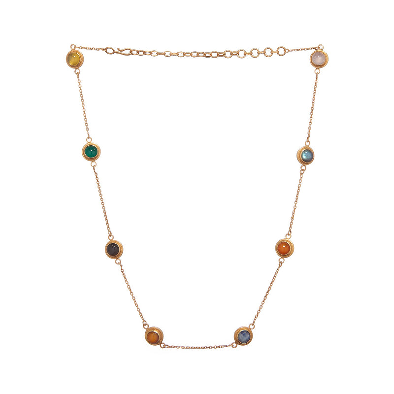 JAIPUR ROCKY ROAD NECKLACE