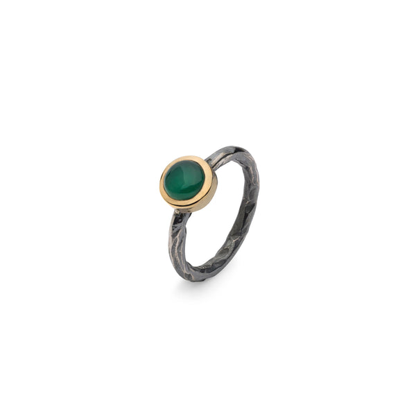 SAIGON GREEN ONYX STACKING RING