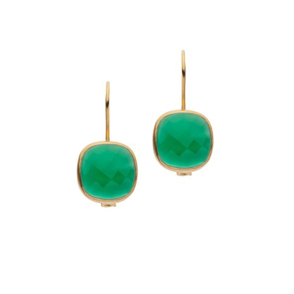 AMAZONIA GREEN DROP EARRINGS