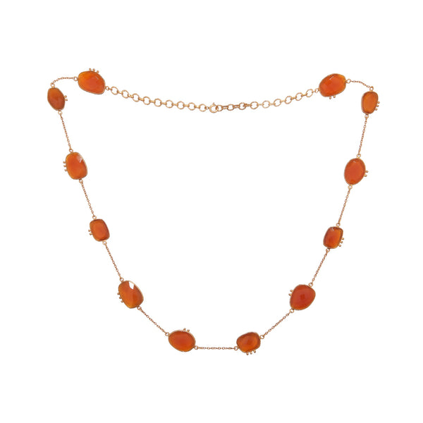 AMAZONIA RED ONYX NECKLACE