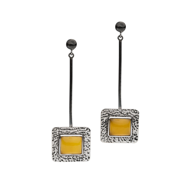 SARDINIA YELLOW QUARTZ EARRINGS
