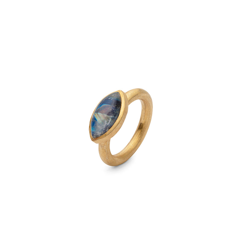 JAIPUR MOONSTONE STACKING RING